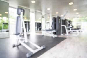 Blurred Gym Image